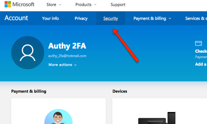 Microsoft - Authy