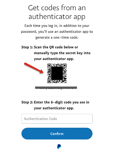 PayPal - Authy